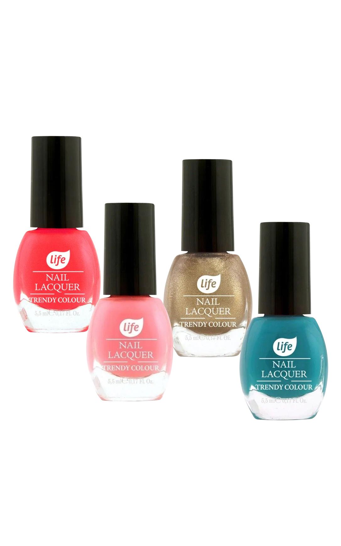 LIFE Lakiery do paznokci różne rodzaje i kolory 5,5ml