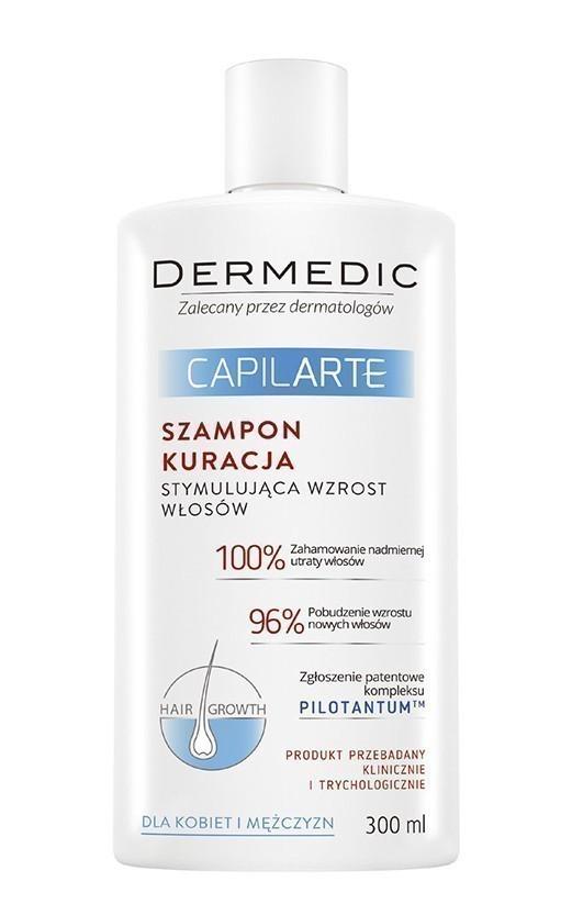 DERMEDIC Capilarte szampon stymulujący wzrost włosów 300 ml