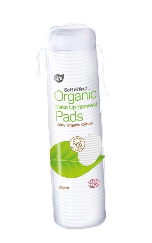 LIFE Ecocert płatki organiczne 80 szt.