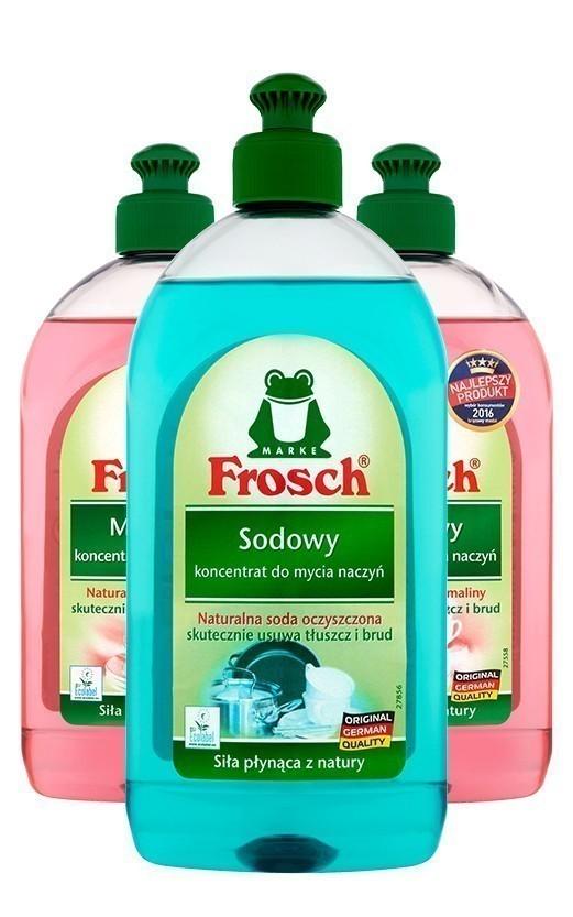 FROSCH koncentraty lub balsam do mycia naczyń 500ml