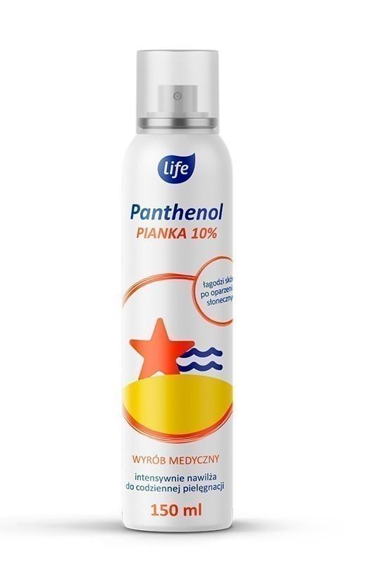 LIFE PANTHENOL łagodzi skutki oparzeń, 150 ml