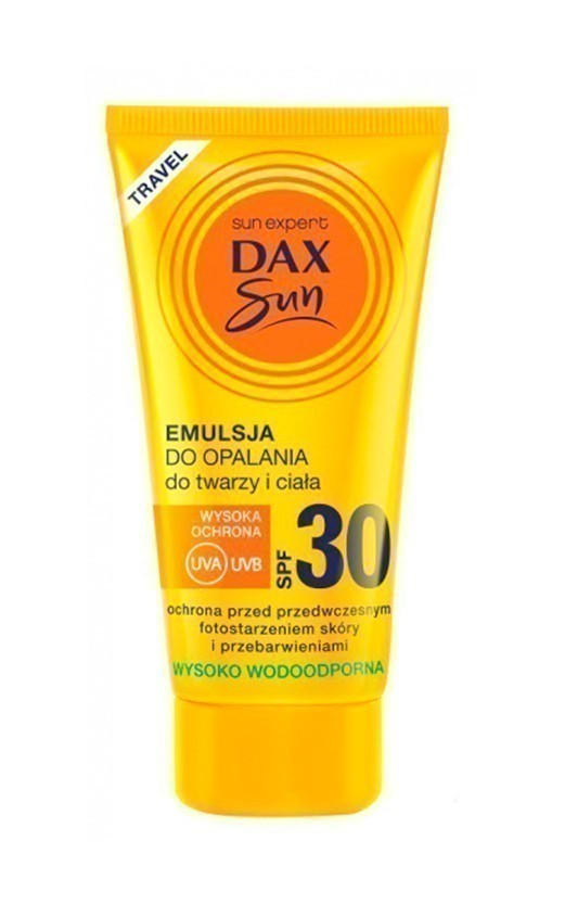 X SUN Mini Travel emulsja do opalania twarzy i ciała SPF30+, 50ml