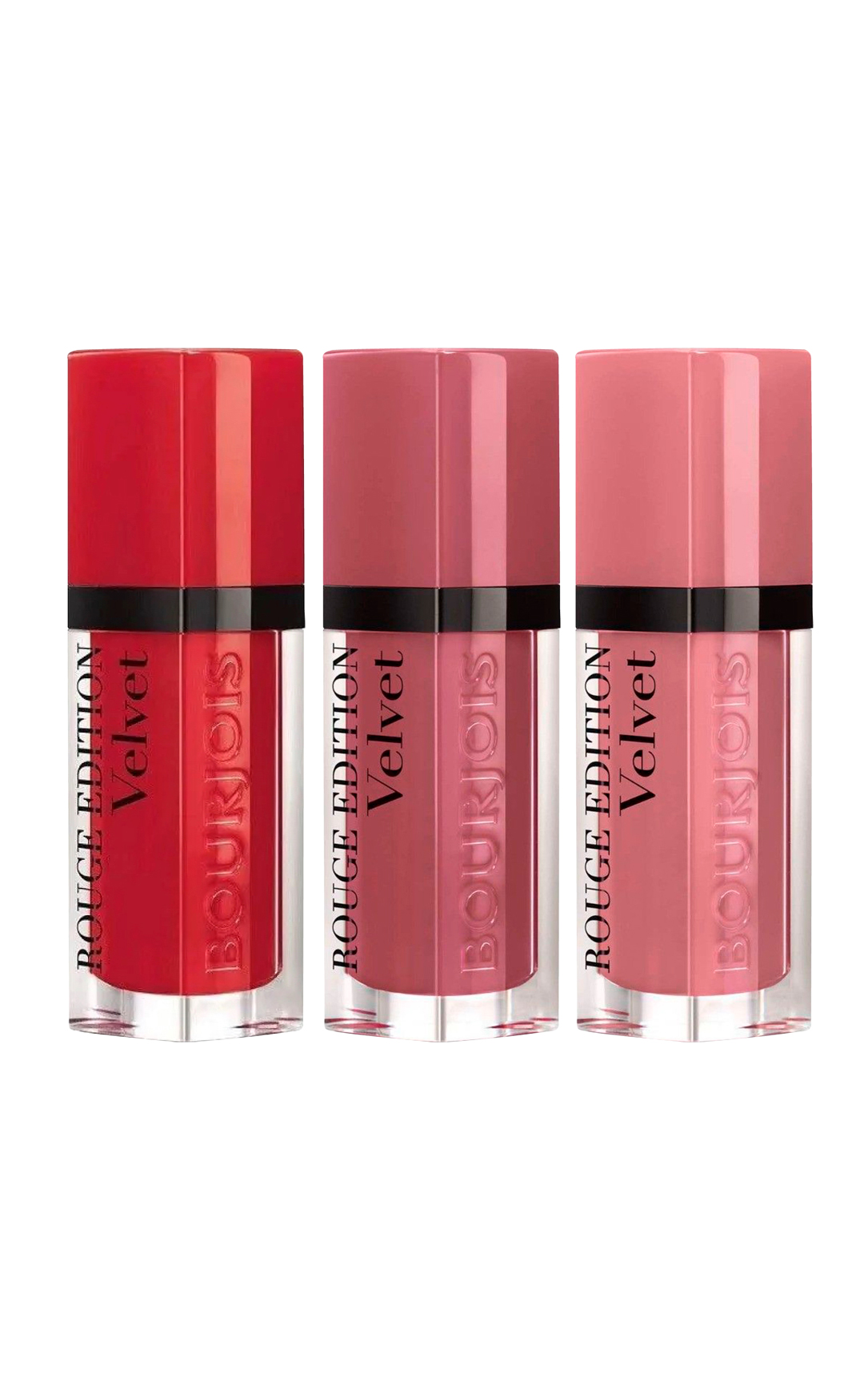 BOURJOIS Rouge Edition Velvet pomadki 7,7 ml