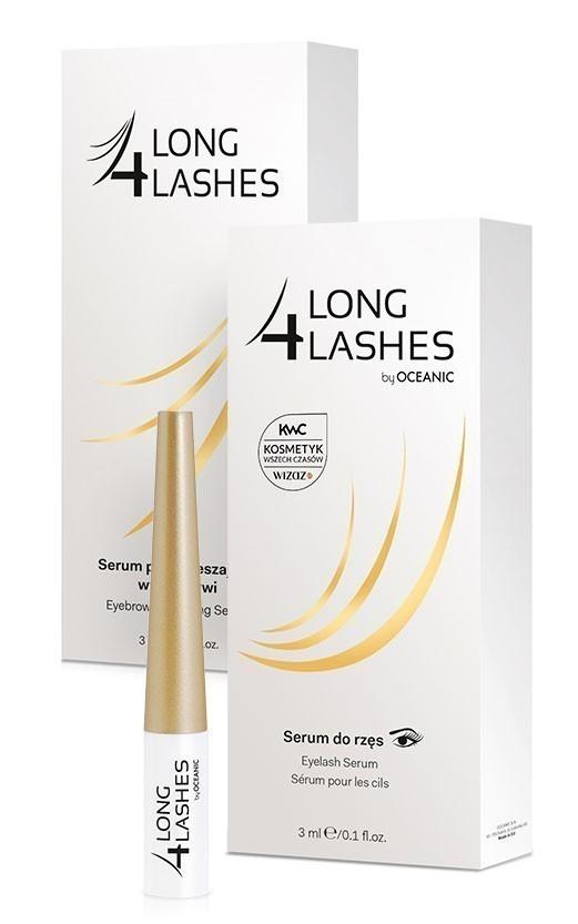LONG 4 LASHES Serum przyspieszające wzrost rzęs lub brwi 3ml